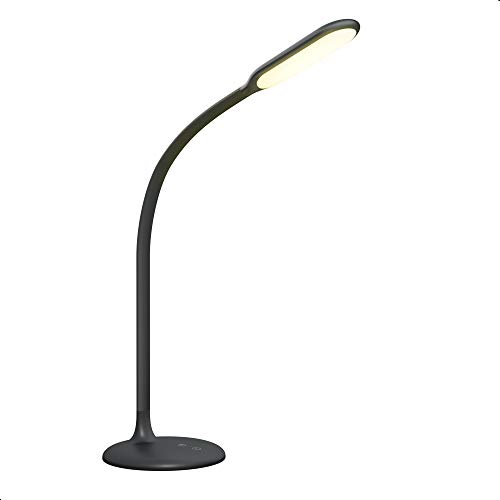 Cordless Lamp Battery Operated Gladle LED Desk Lamp, Rechargeable Table Light up to 100 hrs, dimmable Reading Lamp with 30min Timer, Gooseneck Touch Lamp, Low Battery Indicator Memory, 2700-6500K