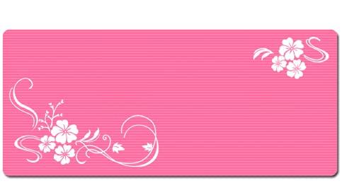 Yoga Mat 30mm Tappetino Di Fitness Per Bambini 20mm Tappetino Per Il Pavimento Domestico 20mm (principiante) 20mm di spessore-rosa-doppio fiore umore