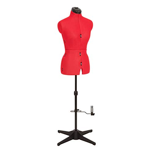 comparador Adjustoform 023816 / Red Simple Thing Muñeca de costura ajustable de 8 piezas UK10-16