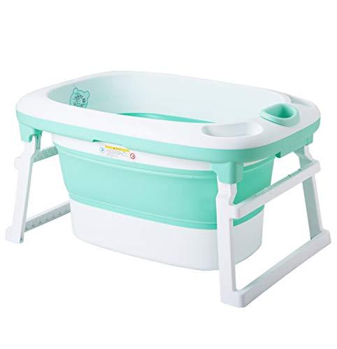 L@LILI Grande Baignoire pour bébé Nouveau-né pouvant accueillir Une Baignoire,B