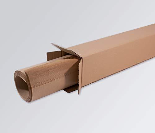 SIGEL MU160 Brown Paper, Moderationspapier für Pinboards, braun, 84x160 cm, 80 g-Kraftpapier, 50 Blatt