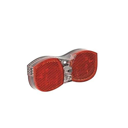P4B | GPT-Rücklicht für Batteriebetrieb | Mit 3 LED`s für Starke Beleuchtung und Gute Sichtbarkeit | Über 100.000 Stunden Leuchtdauer
