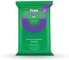 Lenços Umedecidos Antissépticos Free Wipes, Freeco
