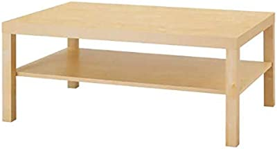 IKEA BOUTIQUE STORE Fibreboard Birch Effect Coffee Table (118x78 cm)