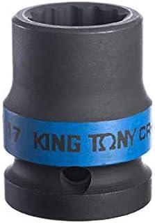 Soq de Impacto Estriado 1/2-17Mm, Kingtony Br, 453017M