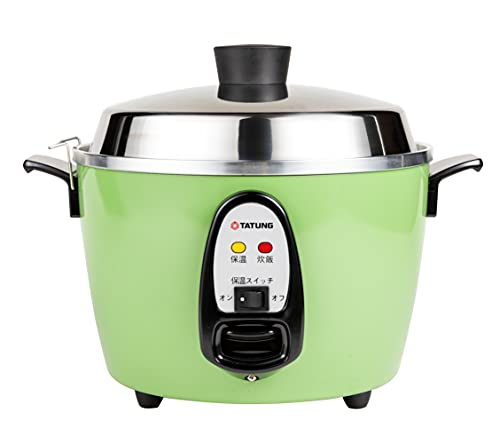 【TATUNG 公式販売店】大同電鍋(電気釜) 炊飯器 6合 ー緑ー Mサイズ 【正規品】