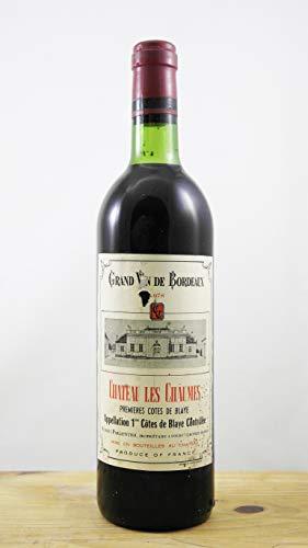 Wein Jahrgang 1978 Château des Chaumes Flasche
