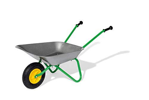 Rolly Toys Metallschubkarre Kinderschubkarre (für Kinder ab 2,5 Jahre, Metallschüssel, belastbar bis 25 kg, Kunststoffgriffe) 271757