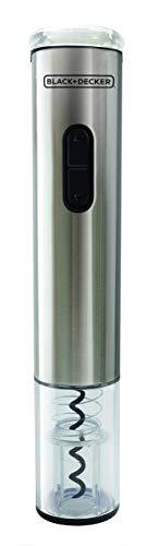 BLACK+DECKER Abridor de Vinho Prata WINE INOX