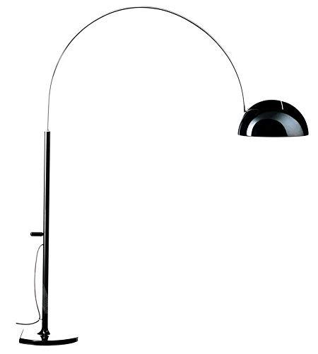 Oluce Coupè 3320/R Design Joe Colombo 1967 - Lámpara de pie de arco