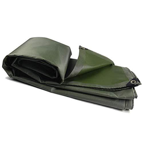 Zware Tarp Waterdicht Dekzeil, Camping Tent Cover Met Ogen Voor Tent Camping, Hangmat, Zwembad, Tuin, Auto, Motorfiets, Boot 1.5m*2m Groen