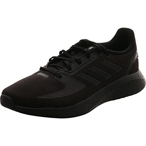 adidas RUNFALCON 2.0, Zapatillas de Running Hombre, NEGBÁS/NEGBÁS/GRISEI, 43 1/3 EU