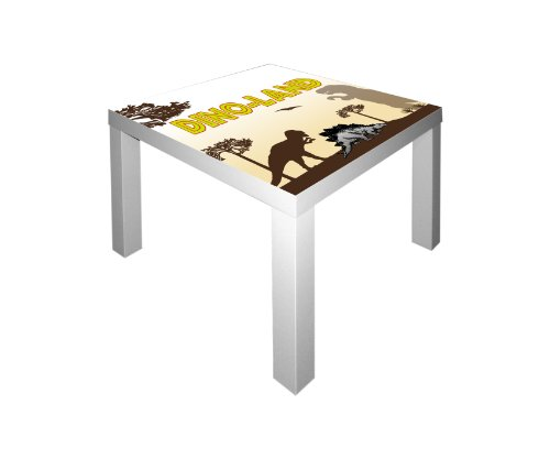 Dinosaurier Möbelsticker/Aufkleber für den Tisch LACK von IKEA - IM46