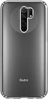 Amagav Mobile Back Cover for Poco M2 Reloaded/Poco M2 / Redmi 9 Prime (Transparent Soft Silicone)