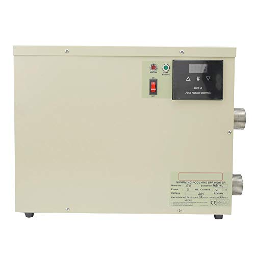 Thermostaat, 5.5KW Waterdichte Intelligente Digitale Boiler Thermostaat met Touch Controller voor Bathpool Pool SPA (Uns)