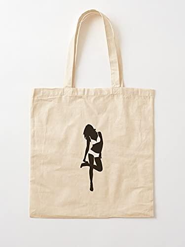 Générique Comic Comix Cartoon Womens - Bolsas de lona con asas, algodón duradero