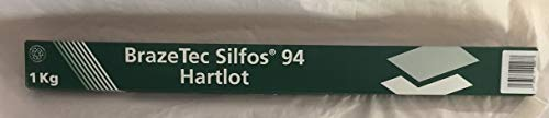 BrazeTec Silfos 94 Schachtel 1 kg 2,0x500mm Stäbe