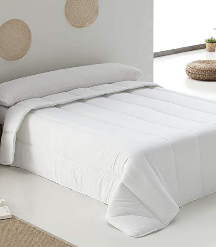 Belnou Hestia-Edredón Relleno Nórdico Blanco De 400 Gr, Tacto Seda, Confort Invernal, (Cama 180...
