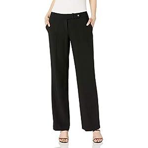Calvin Klein Women's Classic Fit Straight Leg Suit Pant