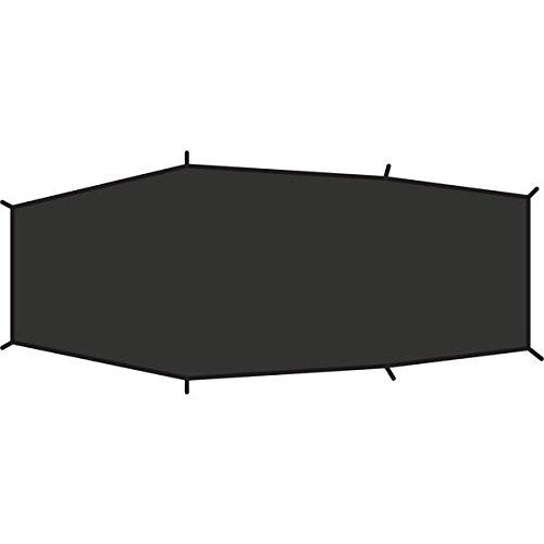 Fjällräven Unisex's Lite 2 Voetafdruk Tent Vloer, Zwart, One Size