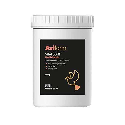 Vitaflight F1 Nahrungsergänzungsmittel, für Brieftauben, Multivitamin, 500 g