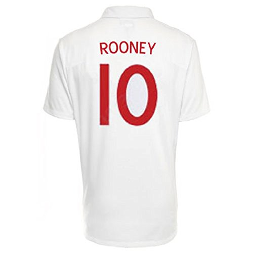 Umbro ROONEY #10 England Home Trikot WM 2010 (X-Large)