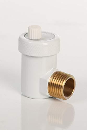 Snelle ontluchter snel ontluchtingsventiel automatisch design wit 1/2