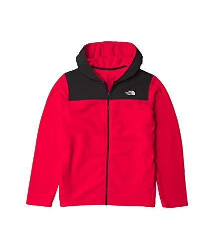 The North Face Youth - Felpa con cappuccio in pile, taglia XS, colore: Rosso TNF