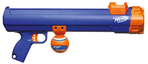Nerf Dog VP6870E Tennisball Blaster, blau/orange