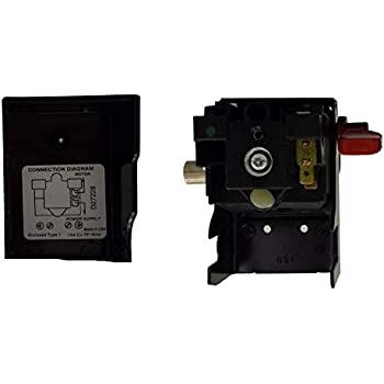 Amazon Com Changta New 5140117 89 Air Compressor Pressure Switch 150 120 Psi Craftsman For Porter Cable Home Improvement