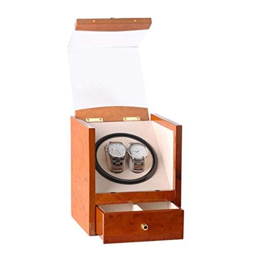 Watch Winder Shake Tischgerät Black Piano Paint Single Head 2 Automatischer Aufzug Elektrischer Uhrenkasten Shaker Elektrischer Drehtisch Geeignet für High-End-Uhren