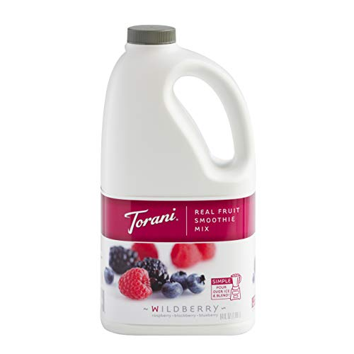 Torani Real Fruit Smoothie Mix, Wildberry, 64 Ounce