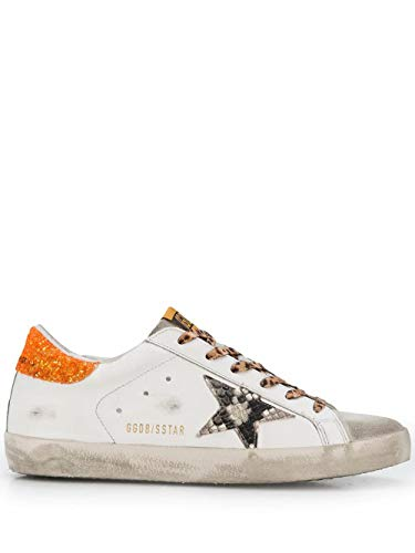 Golden Goose Luxury Fashion Damen GWF00101F00011480159 Weiss Leder Sneakers | Herbst Winter 20