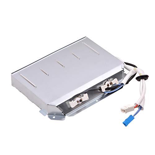 Elemento calefactor como Beko 2970101400, calentador de secadora para secadora, diseño de flores, Grundig y Arcelik