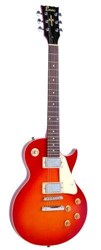 Aún E99CSB paquete de la guitarra eléctrica del resplandor solar de la cereza