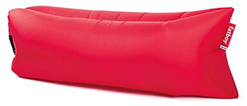Fatboy® Lamzac The Original 2.0 rot | Aufblasbares Sofa/Liege, Sitzsack mit Luft gefüllt | Outdoor geeignet | 185 x 83 x 50 cm