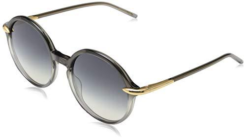 Pomellato PM0036S 001 Occhiali da Sole, Grigio (001-Grey/Grey), 54 Donna