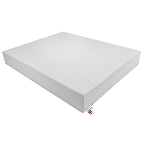 Baldiflex Pocket Sprung Memory Foam Mattress 80x190x24 cm Wimbledon Sprung Plus, 2 cm Memory Foam, Orthopedic mattress, Zipped Cover