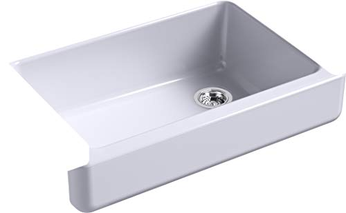 Buy Bargain Kohler K-5826-GRL Whitehaven Kitchen Sink, LavenderGrey
