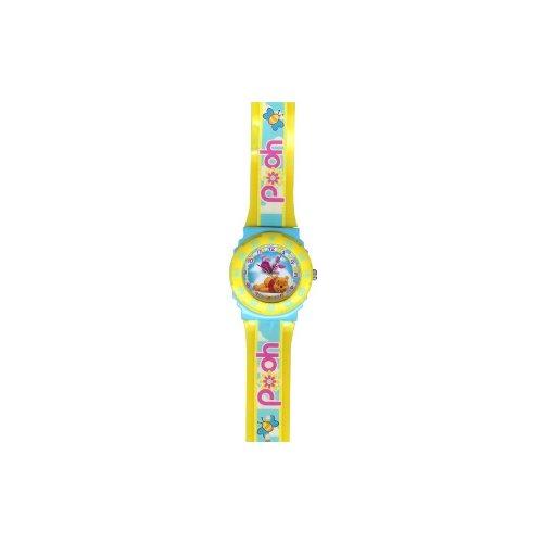 Winnie The Pooh Disney Kinderuhr - Blau/Gelb