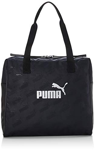 PUMA Wmn Core Up Large Shopper Bolsa Deporte, Mujer, Black, OSFA