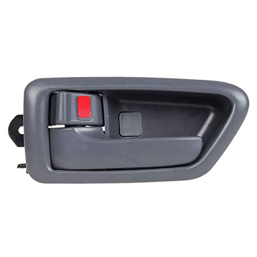 AUTEX 91002/91006 Grey Interior Door Handle Front/Rear Left Driver Side Compatible with Camry 1997 1998 1999 2000 2001