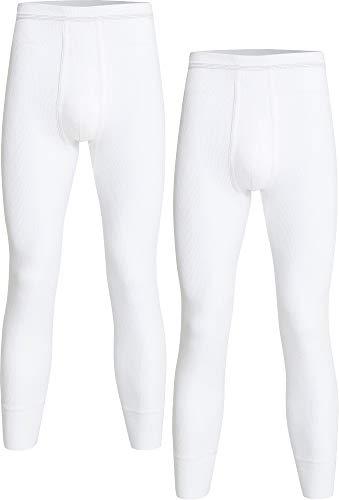 con-ta Herren-Unterhose, lang 2er-Pack Feinripp Größe 7
