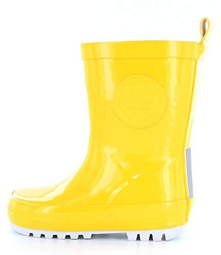 ShoesMe RB7A092-E KIDS' WELLIES 27 Yellow