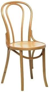Sillas de cocina / comedor - Silla de noche Bistro (natural) (Pack 2) - Muebles elegantes y robustos para su hogar o negocio