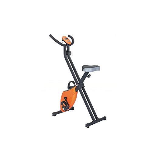DJDLLZY Bicicletas de Ejercicio, Bici de Ciclo Indoor, Ultra silencioso de Control magnético Vertical Inicio Bicicleta de Spinning, aparatos de Ejercicios Bicicleta estática, Estable y cómodo Diseño