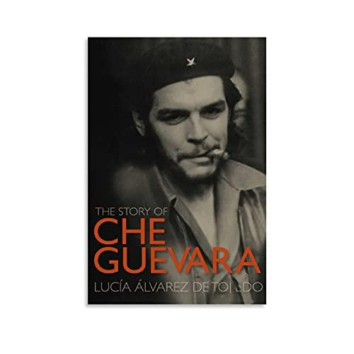 YUYING Póster de la película Che Part One Retro Poster Che Guevara Poster.0. Lienzo de arte y mural de impresión de imagen póster de decoración de dormitorio 30 x 45 cm