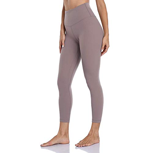 ReooLy Women's High Waist Butt Lifting Scrunch Solid Color Tight Fitness Yoga Pants Nude Hidden Soft Stretch Yoga Pants Tummy Control Running Tights Gym Leggings(Pink,Large)