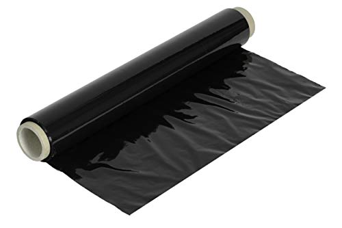 Cofam Rollo film estirable manual 23my, 2 kg (Negro), Grande