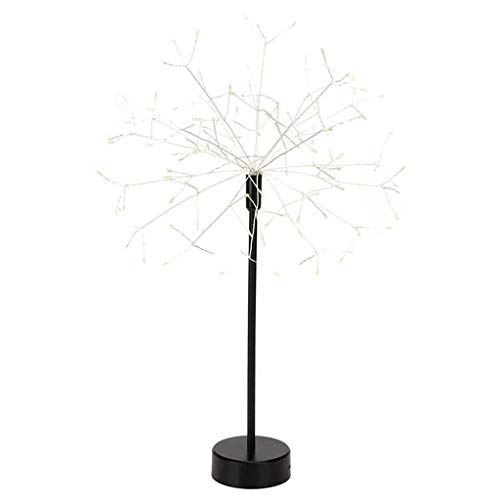 ZCX Firework Lights Copper LED Lights 8 Modes Fairy Lights with Remote Hanging Ball Lights for Christmas Party Outdoor Decoration Christmas Lights (Color : White)